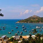 Ninh Chữ là một bãi biển thuộc thôn Bình Sơn, thị trấn Khánh Hải, tỉnh Ninh Thuận