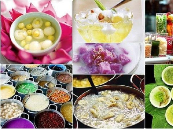 Món ngon Đà Nẵng với các loại chè đa sắc