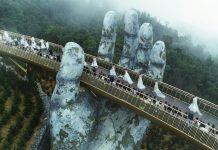 Cầu Vàng ở Đà Nẵng lọt top 100 điểm đến tuyệt vời nhất thế giới