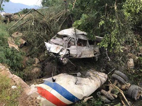 tai nạn tại lai châu khiến 13 người chết