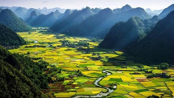 Ngắm mùa lúa chín ở Bắc Sơn - Lạng Sơn