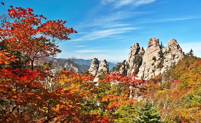Nhớ ghé thăm núi Seorak khi du lịch Hàn Quốc