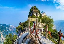 Ngắm vẻ đẹp của hai ngọn núi nổi danh trong tiểu thuyết Kim Dung