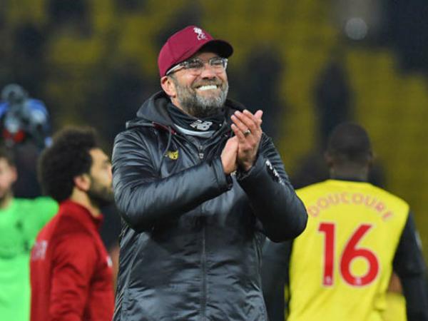 Klopp tự hào với số điểm mà Liverpool có được