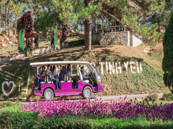 Thung lũng tình yêu - Thắng cảnh thơ mộng nhất Đà Lạt