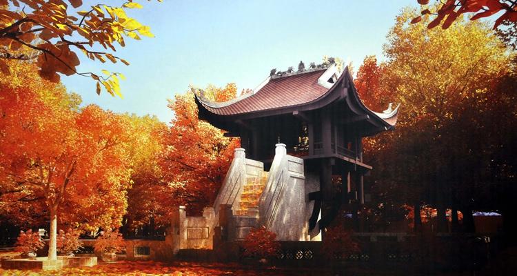 Kiến trúc độc đáo của chùa Một Cột