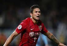 Tiền đạo gốc Brazil được gọi vào đội tuyển Trung Quốc