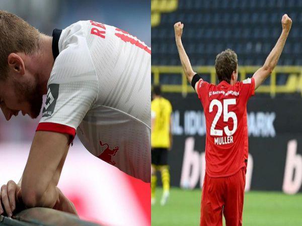 Những kẻ thách thức ngôi vương của Bayern đều lần lượt bị hạ gục