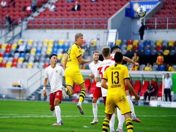 Nỗ lực của Haaland trì hoãn ngày đăng quang của Bayern