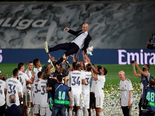 HLV Zidane giúp Real Madrid vô địch La Liga 2020