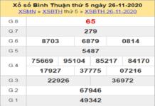 Nhận định XSBT ngày 03/12/2020- xổ số bình thuận cụ thể