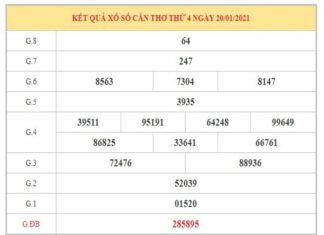Thống kê KQXSCT ngày 27/1/2021 dựa trên kết quả kì trước