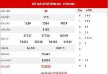 Thống kê XSDN ngày 14/4/2021 - Thống kê KQXS Đồng Nai thứ 4