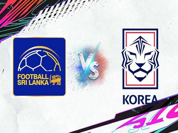 Soi kèo Sri Lanka vs Hàn Quốc – 18h00 09/06/2021, VLWC KV Châu Á