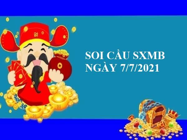 Soi cầu dự đoán SXMB 7/7/2021