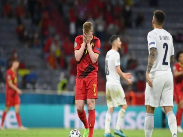 Tin EURO sáng 3/7: Thế hệ vàng của Bỉ tan mộng vô địch