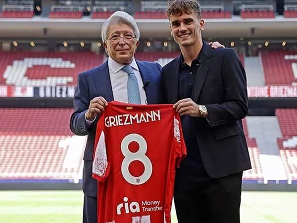 Bóng đá sáng ngày 9/9: Antoine Griezmann bất ngờ