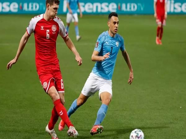 Dự đoán bóng đá Đan Mạch vs Israel (1h45 ngày 8/9)